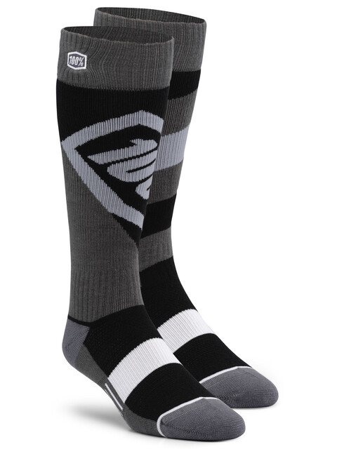 100% Torque Comfort Moto Socks black